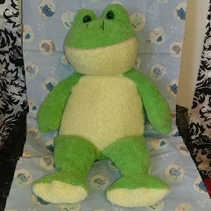 Frog stuffed animal 17 inches tall